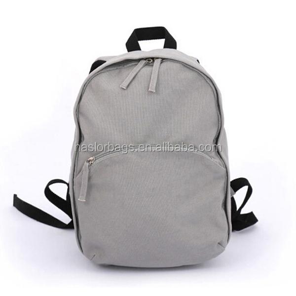 2015 hot sale custom wholesale canvas backpack