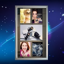 LED motion mirror with 8 pictures flashing light box