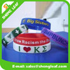 2015 hottest with multi colors cheap custom silicon bracelet