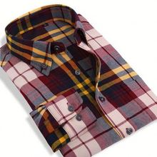 FACTORY DIRECTLY!! Good Quality lined plaid flannel shirt for sale