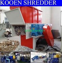 KOOEN plastic pp pe pipe crusher machine