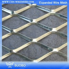 (China) Metal Expanded Wire Mesh Window Guard Flatten Expanded Wire Mesh Expanded Wire Mesh Fence