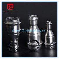 Unique customized stainless stee reducer coupling for machinery