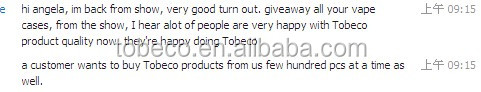 tobeco authentic with barcode 100% original patent turbo rda atomizer