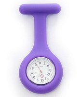 Colorful doctor silicone nurse watch/silicone rubber nurse watch as promotion gift