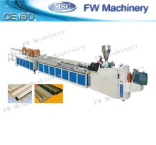 wpc profile production line/upvc profile extrusion line for sale