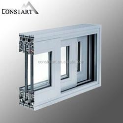 2015 Aluminum profile extrusion shanghai factory build materi aluminum sash window