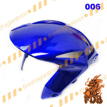 PAINTED FDB Aftermarket ABS Injection Front Hugger Front Fender Front Mudguard CBR 1000RR 08 09 10 11 12 13 color 006 blue