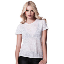 Transparent sexy ladies t-shrits,Clear white girls t-shirt, Super sexy t-shirt for girls