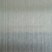 304 316L stainless steel panel/plate hairline brushed surface