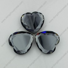 Wholesale glass mirror rhinestone sew on crystal stones for dresses