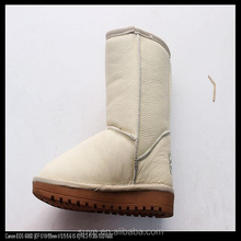 Classic Women Ankle Boot / Sheepskin Snow Boots / Winter Shoes