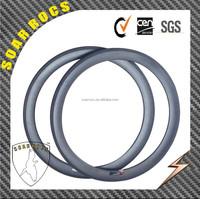 2015 SoarRocs 650C road bike rim 50mm tubular 23mm width UD matte finish carbon 650C road bicycle rims