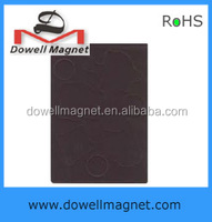 supply free sample flexible rubber magnet