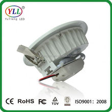 10w stable led down light 120 volt led recessed down light