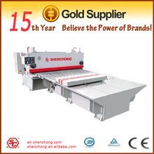QC11K cnc guillotine cutting machine with front table, exported quality with fashional style