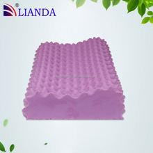 cool gel latex pillow,summer cool gel latex pillow,lavender color latex pillow