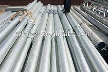 galvanizado eléctrico poste de acero