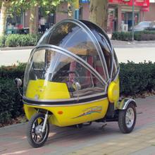 three wheeled electric vehicle handicap electric vehicle electric battery operated three wheel vehicle bubble trike
