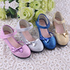 colorful lovely flower girl dress shoes from Guangzhou online shop .Good quality children girl dress shoes