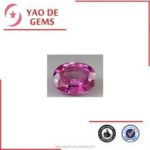 Loose Oval diamond synthetic cubic zircon,corundum ruby,glass gems