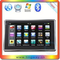 Het selling gps navigation android tablet gps gprs with FM,MP3,MP4,av in,bluetooth
