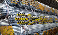 NPT Threaded Hot Dipped Galvanized Carbon Steel Pipe ASTM A53 A500 GRADE B BS1387 China Steel Mill