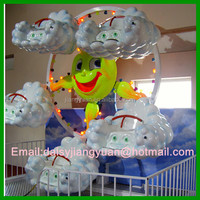 Factory outlet kids indoor games mini ferris wheel play equipment for shopping mall