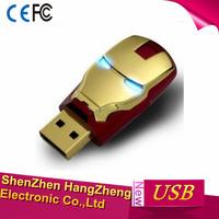 64gb Iron Man Mask Style 64 Gb Cans Model USB 2.0 Enough Memory Stick Flash Pen Drive 64gb - White