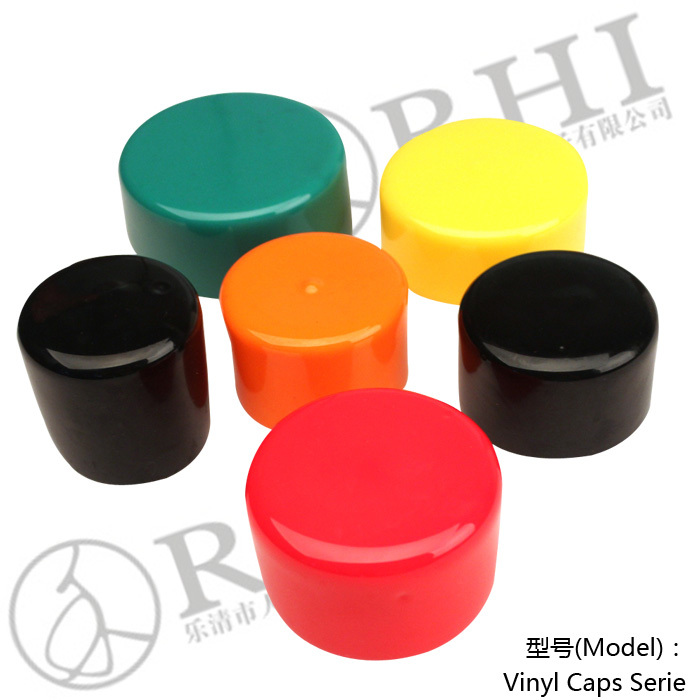 Pvc plastic tube caps for stainless steel pipe end