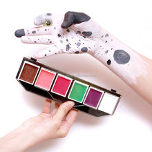 Multi-Color Funny Cheap Face Paint Designs By Number