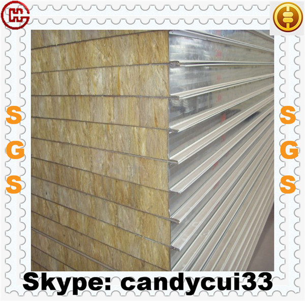 Wholesale fire rated sandwich panel rockwool mineralwool for Rockwool fire rating