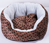 Wholesale Printed Flower Shape Luxury Pet bed/Dog Nest