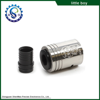 Factory Promotion !!! High Quality Best RDA Rebuildable Big Dripper Little Boy RDA With Fast Delivery
