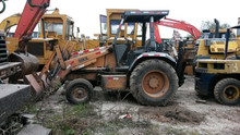 originally from Japan used backhoe loader CASE 580L for sale