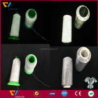 Hot sale products glow in the dark polyester yarn