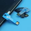 16 GB USB 2.0 Metal Flash Drive Memory Stick Shockproof Silver usb key