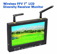 "Boscam RC701 5.8GHz Wireless FPV 7"" LCD Diversity Receiver Monit"