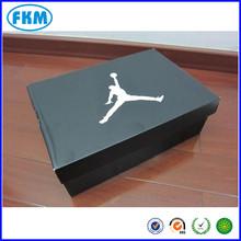 black color basketball shoe box