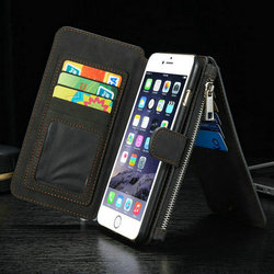 For iPhone 6s Plus Cover, CaseMe Smart Case for iPhone 6s Plus, for iPhone 6s plus Leather Case