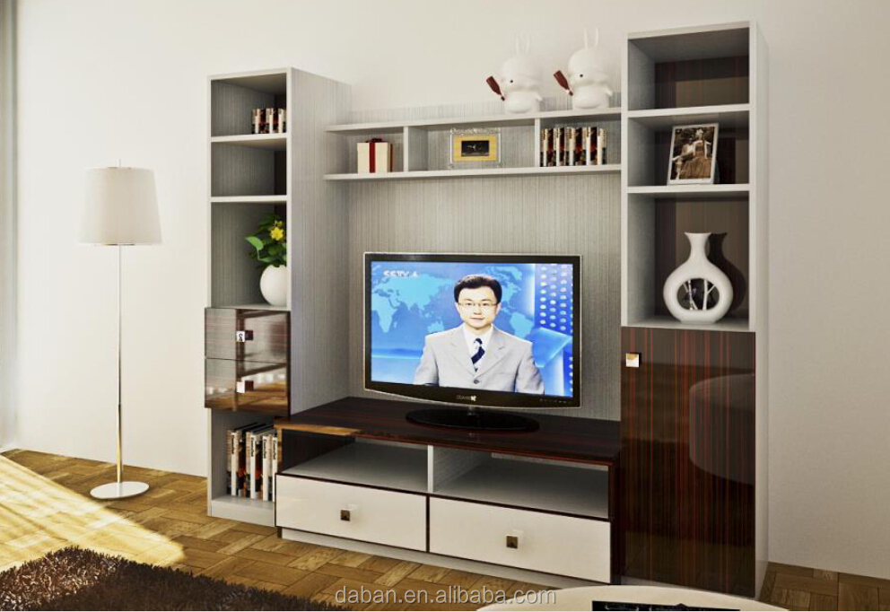 Modern Design Lcd Tv Cabinet Design With Showcase Buy Tv Cabinet With Showc