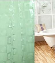 a prueba de agua fanshional 3d eva cortina de la ducha para la venta