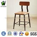 De haute qualité de style industriel en métal de cuisine Chaise