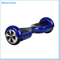 Cheapest two wheel smart balance electronic scooter with led light For Adults or Child 170mm tire size 120kg load