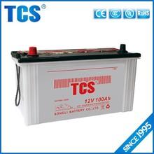 Long life 12V 100Ah dry car battery manufacturers