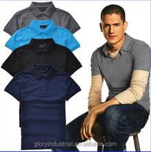high quality custom uniform polo shirt short sleeve
