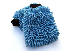 Microfiber Chenille Dust & Wash Mitt - High Quality Microfiber - Thick and Super Absorbent - Use Wet or Dry