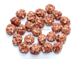 Duck and rawhide balls private label dog snacks