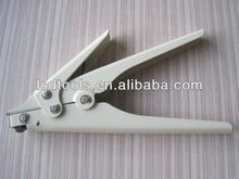 Automatic cable tie fasten tool,nylon cable tie installation tool,white colour