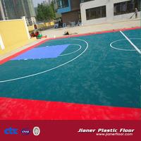 Hot Sale Popular High quality modular tile Suspended Outdoor PP Interlocking Sports floor tiles Basketball Flooring